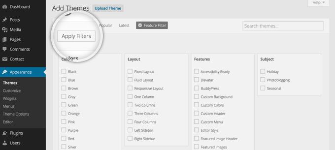 How to Change WordPress Themes - KAEIS.com